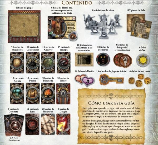 Contenido Dungeon Quest