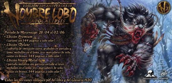 Mecenazgo Hombre Lobo 20 Aniversario