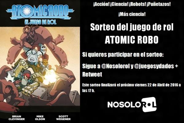 Sorteo Atomic Robo