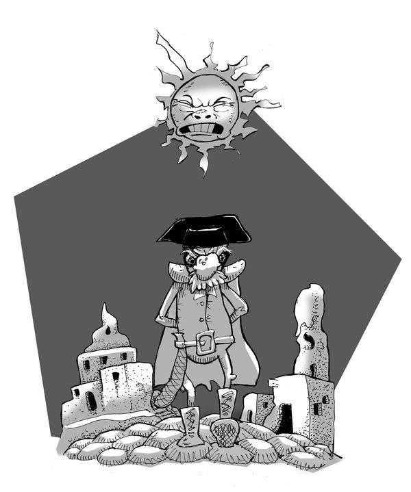 guardia-monton-de-guano