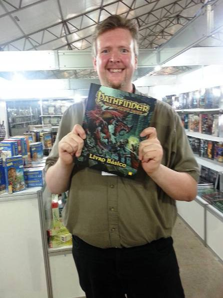 Interview with Jason Bulmahn, lead designer at Paizo and creator of
